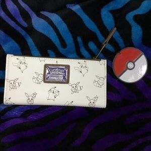 Loungefly Pokemon & Eeve Wallet